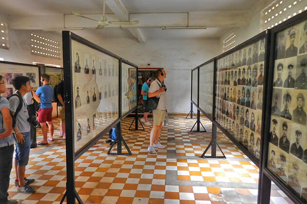 visit Tuol Sleng Genocide Museum in school trip to Cambodia