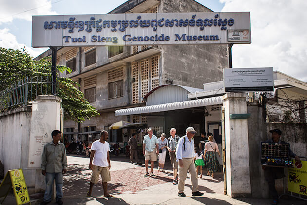 visit Tuol-Sleng-Museum in Cambodia School tours